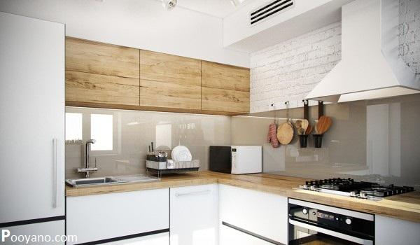 دکوراسیون داخلی ۴ استودیو آپارتمان با مساحت کمتر از ۵۰ مترمربع