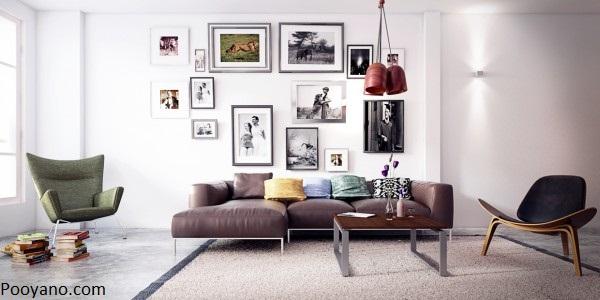 ایده های طراحی فضای نشیمن به سبک اسکاندیناوی