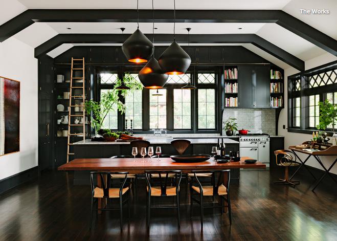 آشپزخانه مشکی با ایده های متفاوت