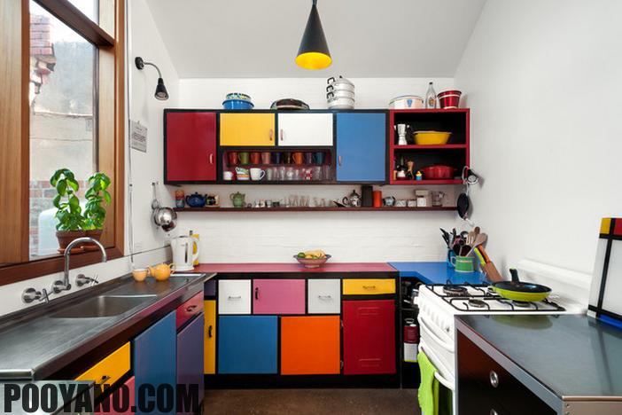 سایت پویانو-هماهنگ کردن رنگ کابینت