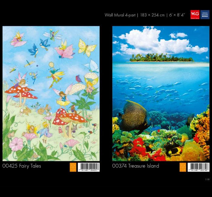 پوستر جزیره - کاغذدیواری سه بعدی پوستر W+G دکوراسیون داخلی