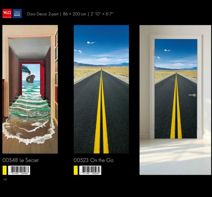 پوستر جاده - کاغذدیواری سه بعدی پوستر W+G دکوراسیون داخلی