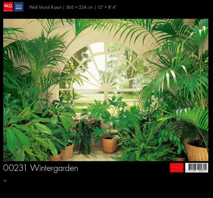 پوستر گلخانه - کاغذدیواری سه بعدی پوستر W+G دکوراسیون داخلی