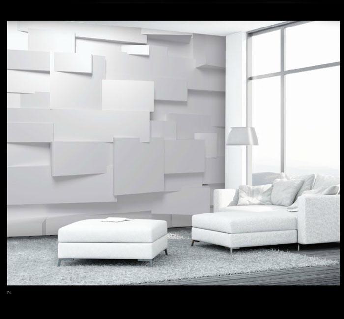 پوستر سه بعدی مدرن - کاغذدیواری سه بعدی پوستر W+G دکوراسیون داخلی