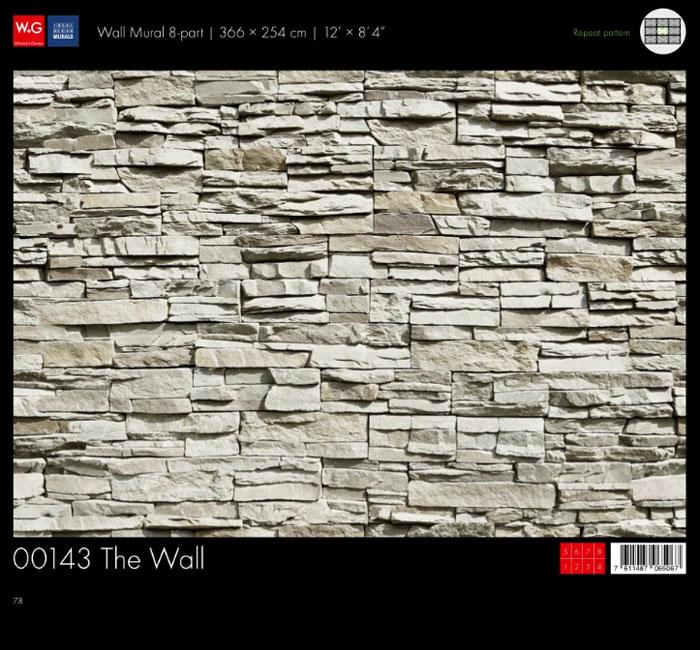 پوستر سنگ دکوراتیو - کاغذدیواری سه بعدی پوستر W+G دکوراسیون داخلی