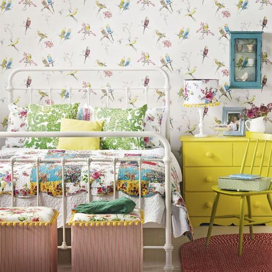 سایت پویانو- دکوراسیون داخلی به سبک وینتیج برای اتاق خواب