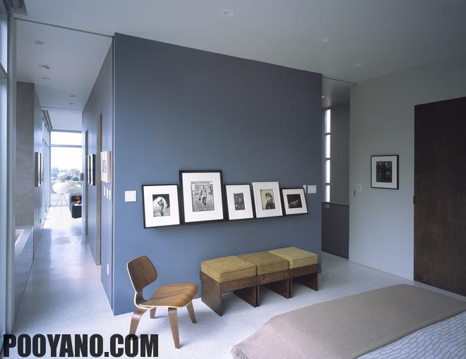 سایت پویانو-رنگ آبی مناسب دکوراسیون منزل