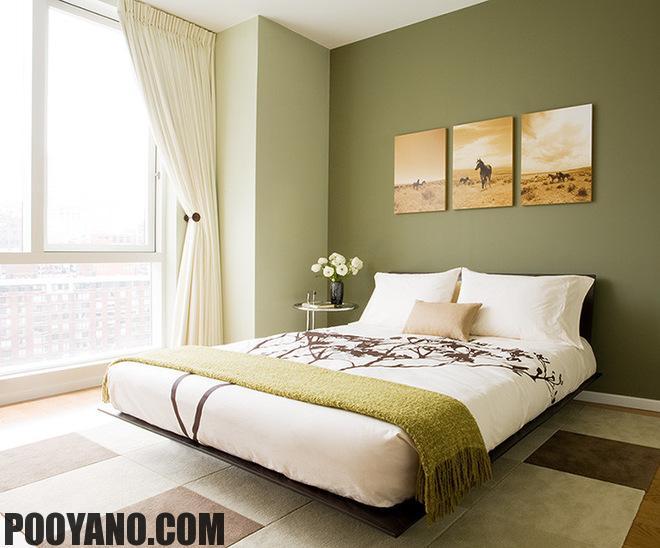 سایت پویانو-رنگ سبز در دکوراسیون داخلی