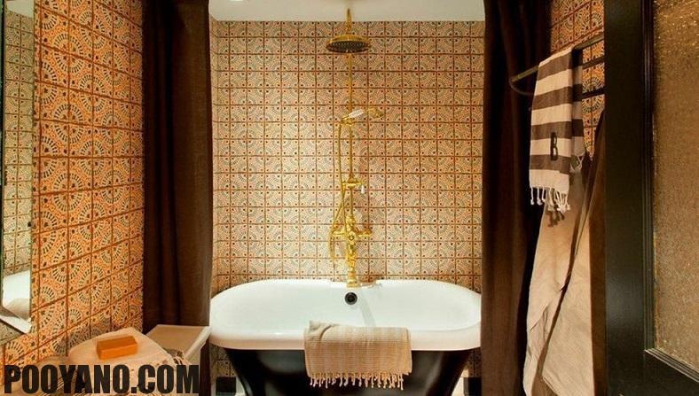 سایت پویانو-کاشی حمام در طراحی داخلی