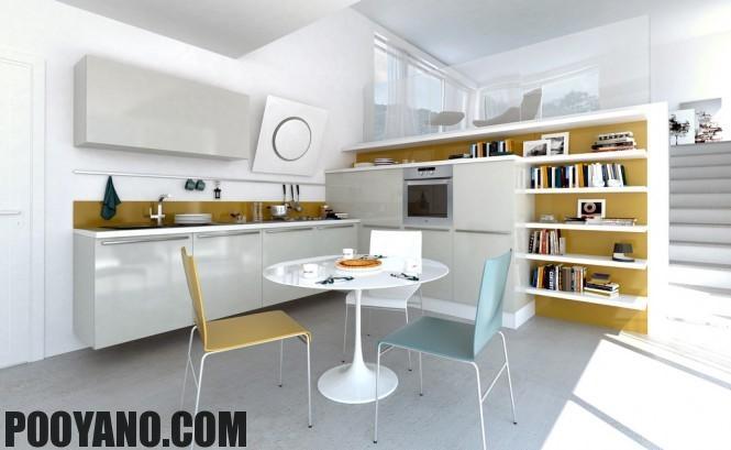 سایت پویانو-دکوراسیون آشپزخانه های باز