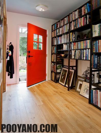 سایت پویانو-درب ورودی منزل