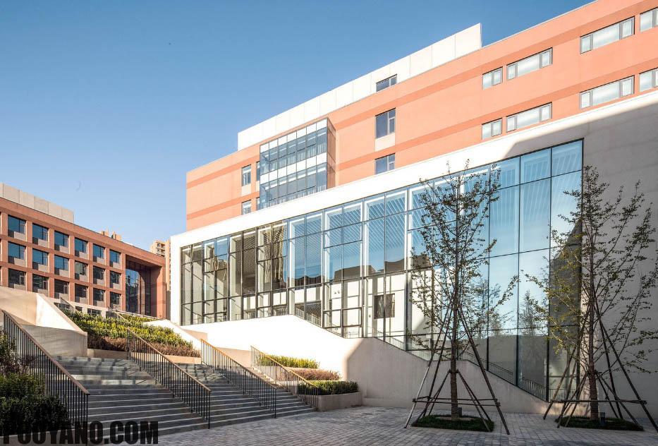 مدرسه ای با یک فضای باز| انستیتوی طراحی معماری پکن