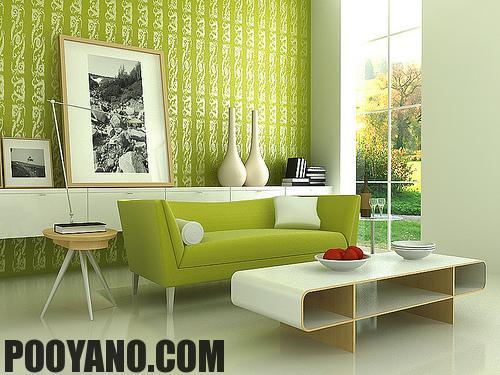 سایت پویانو-تاثیر رنگ در دکوراسیون داخلی