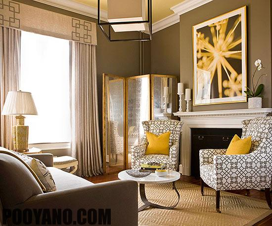 سایت پویانو-ترکیب رنگ قهوه ای