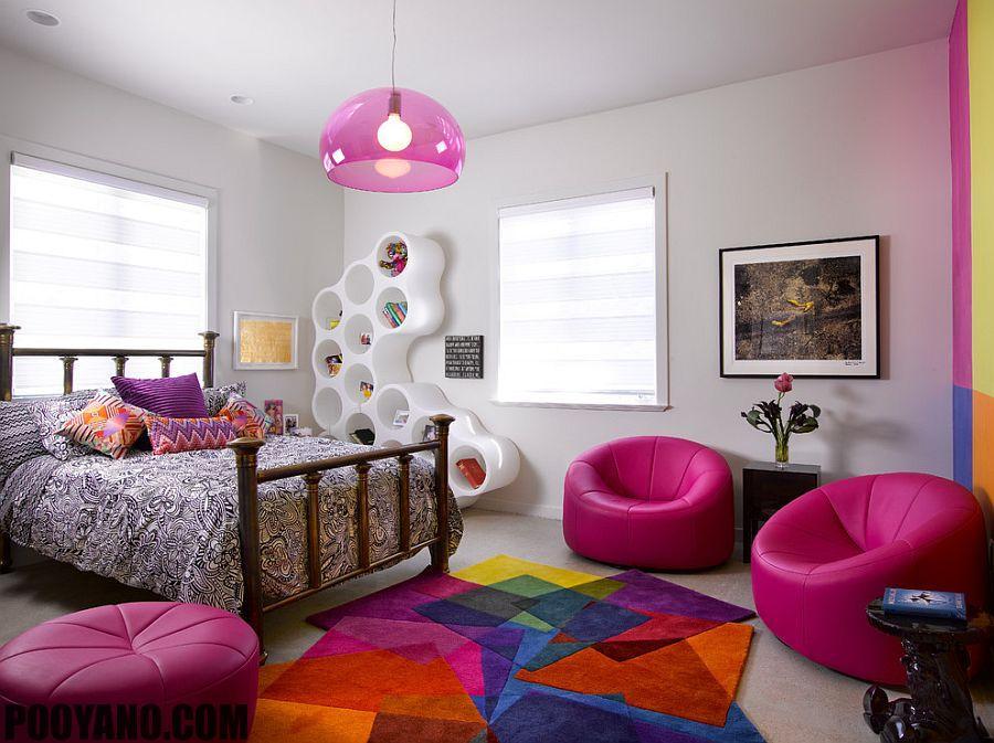 شلف ها و قفسه های اتاق کودکان