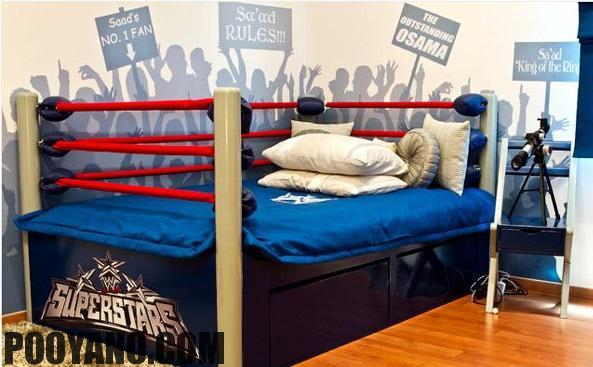 دکوراسیون اتاق خواب پسربچه