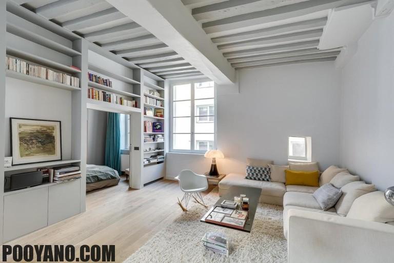 فضای مفید در آپارتمان های کوچک