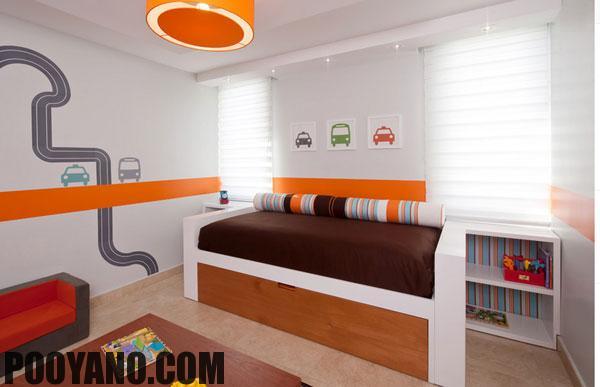 تخت های فانتزی اتومبیل