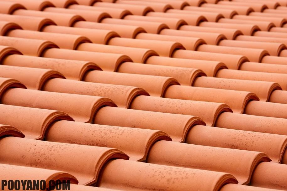 روف تایل پوششی برای سقف شیبدار