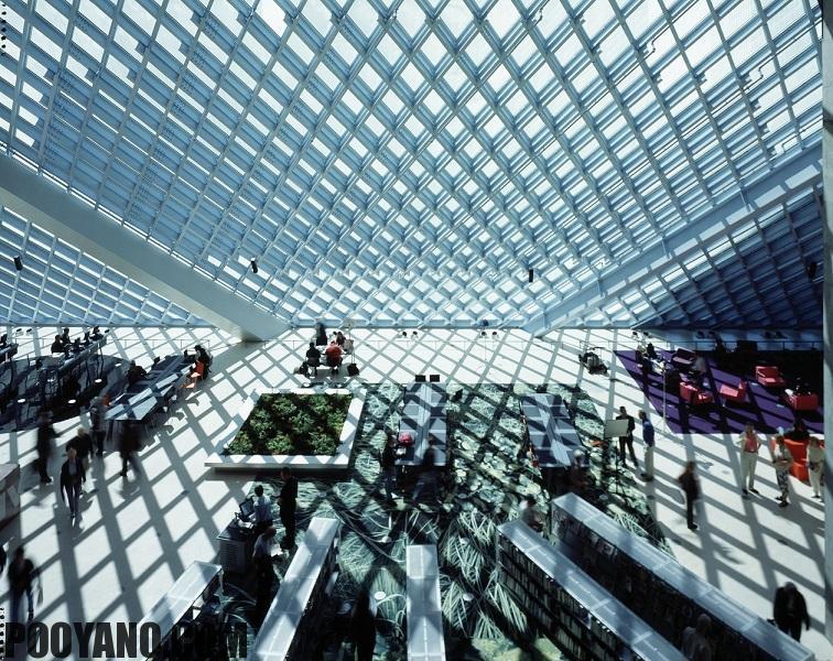 دسته بندی نور روز در معماری