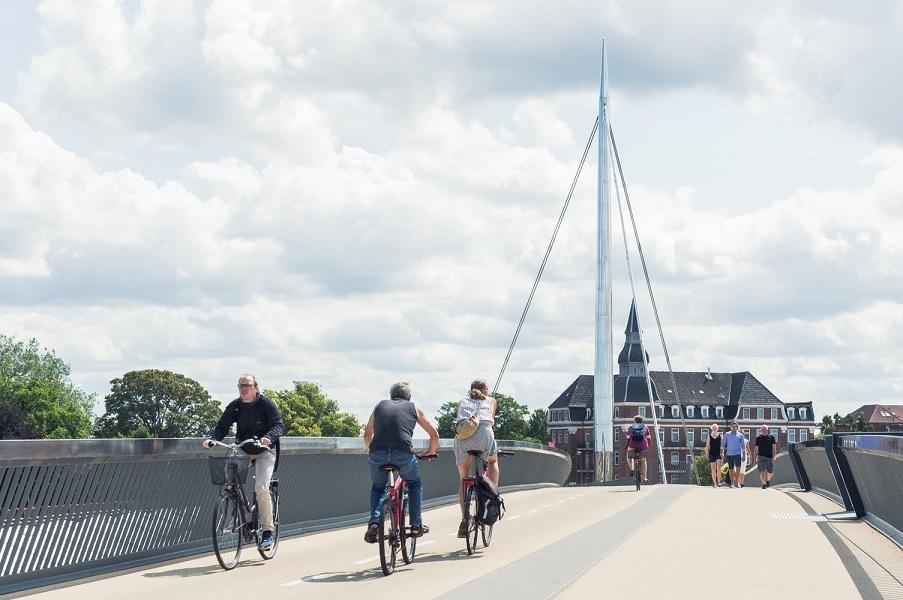 طراحی پل عابر پیاده و دوچرخه سواری در دانمارک