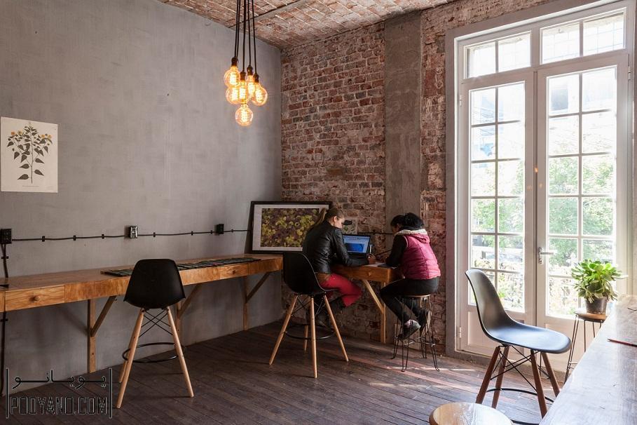 بازسازی داخلی ساختمان متروک در مکزیکو به چندین آپارتمان و دفتر