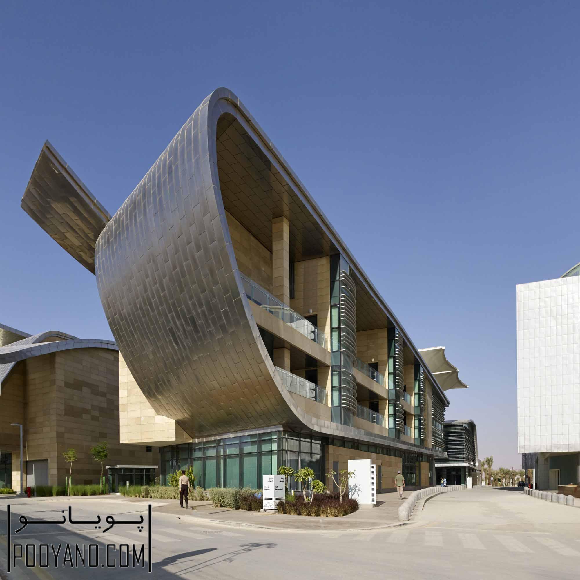 طراحی شهرک و مجموعه تحقیقاتی خانه کاپسارک (KAPSARC) / شرکت معماری HOK