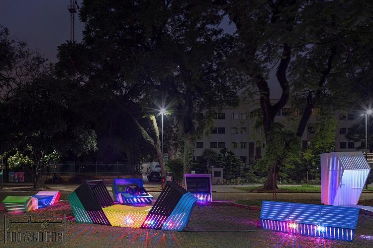 """طراحی مبلمان شهری """"قصه گو"""" در نمایشگاه URBE 2016"""