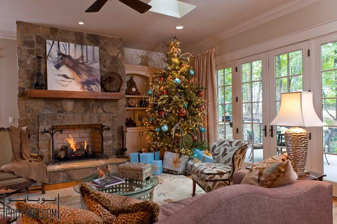 درخت کریسمس در دکوراسیون منزل