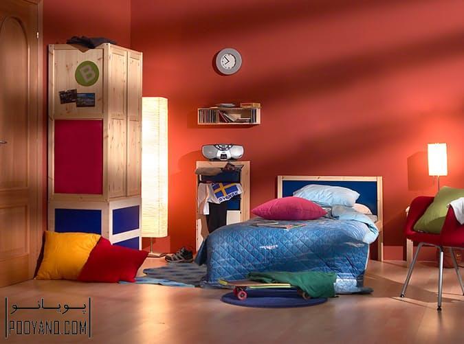 اشتباه در دکوراسیون اتاق کودک