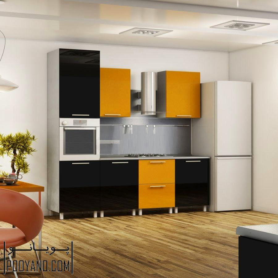 کابینت آشپزخانه و دیزاین آشپزخانه کوچک