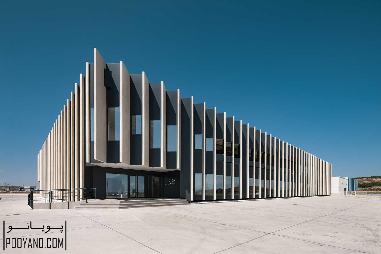 آماد و خدمات جانبی شرکت لوازم خانگی JATA / معماری خوزه میگوئل گارسیا پرز