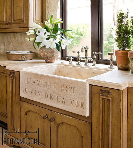 انواع سینک ظرفشویی کابینت آشپزخانه