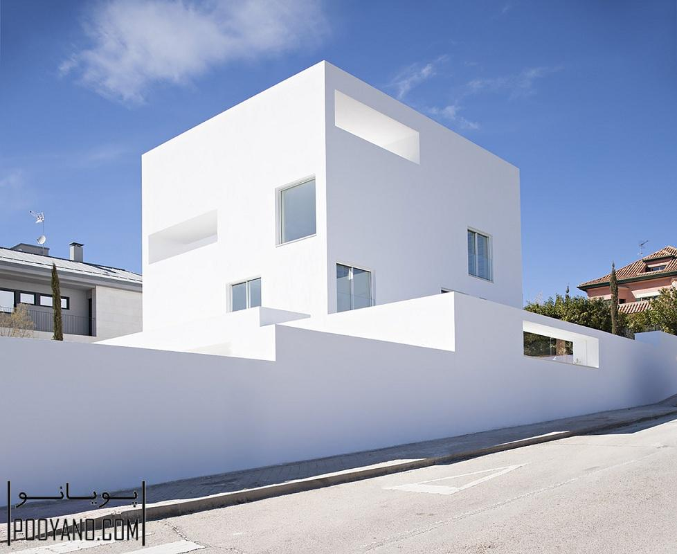 طراحی خانه رامپلن (Raumplan)  / طراح ساختمان  آلبرت کامپو بائسا