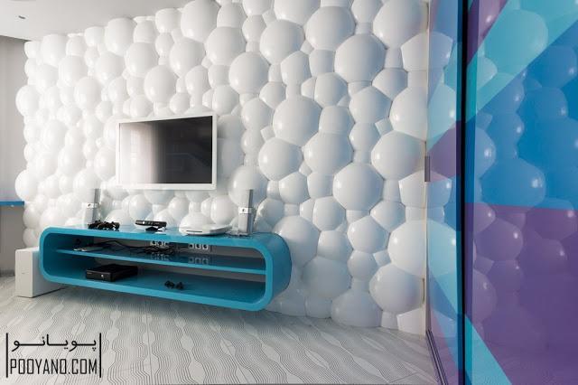 پنل دیواری سه بعدی 3D panel ؛ دکوری برای دکوراسیون