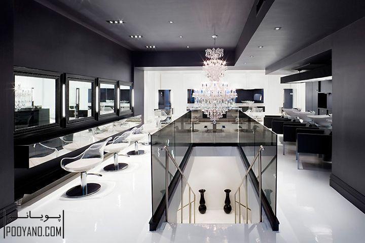 ۵۰ عکس از دکوراسیون سالن های زیبایی و طراحی آرایشگاه بانوان