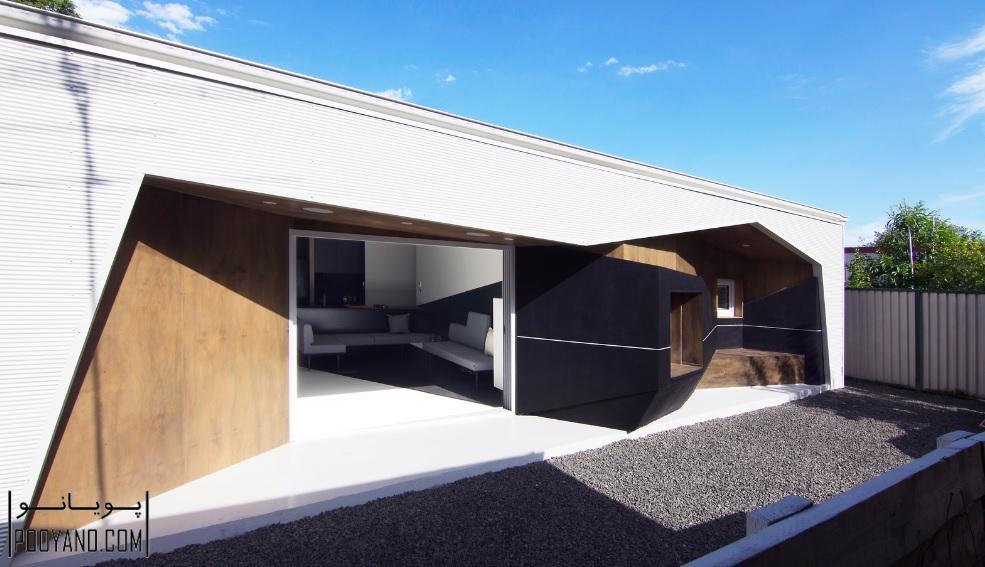 طراحی خانه ۳۳٫۲ / شرکت معماری Grafika