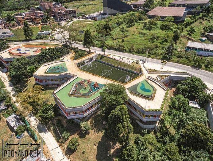 طراحی مرکز اجتماعی UVA El Paraíso / شرکت معماری EDU - Empresa de Desarrollo Urbano de Medellín