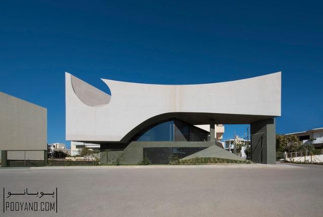 طراحی خانه در کرت / Tense Architecture Network