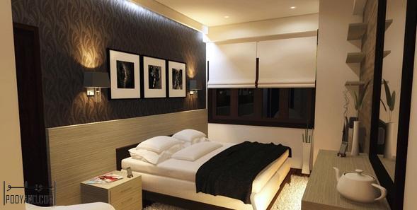 روشنایی و نورپردازی برای اتاق خواب