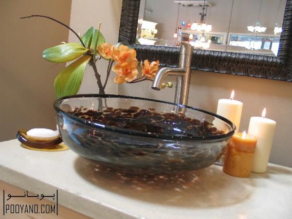 روشویی کاسه ای ؛ انواع سینک کاسه ای روشویی مدرن برای دکوراسیون حمام و سرویس