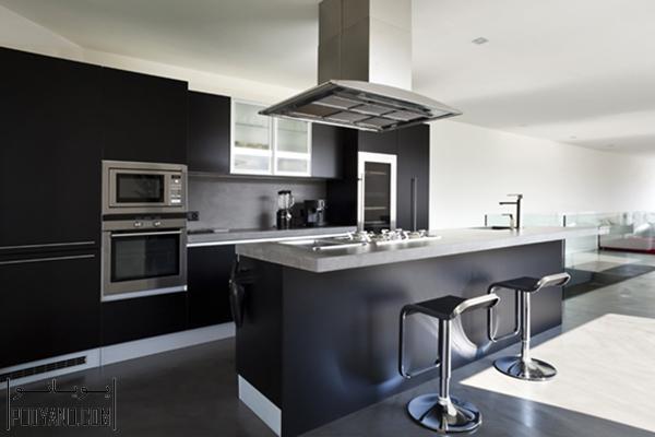هود آشپزخانه ، هود کابینت آشپرخانه ، انواع هود ، نصب هود ، انتخاب هود