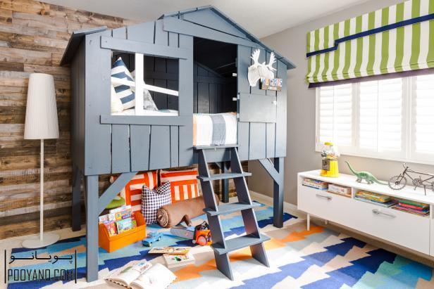 طراحی دکوراسیون اتاق بازی کودک