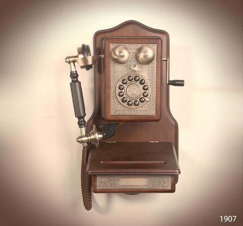 تلفن دیواری والتر مدل ۱۹۰۷
