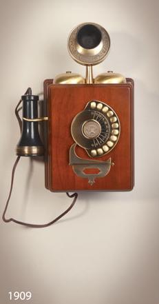 تلفن دیواری والتر مدل ۱۹۰۹