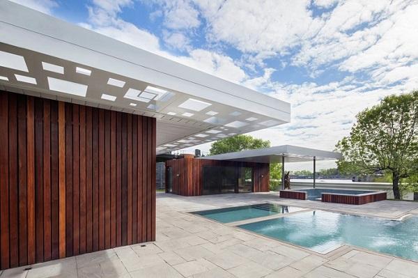 طراحی اسپا در باغ های Bota Bota / شرکت MU Architecture