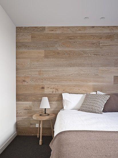 مدل کاغذدیواری طرح چوبی در دکوراسیون اتاق خواب