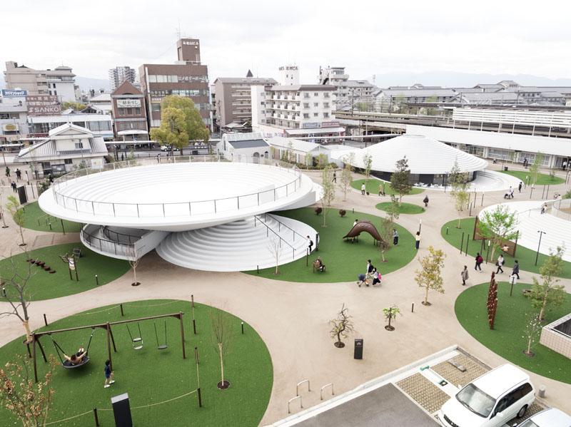 معماری و طراحی داخلی پلازا Cofufun در ژاپن، مکان مناسبی برای گردهمایی های دوستانه