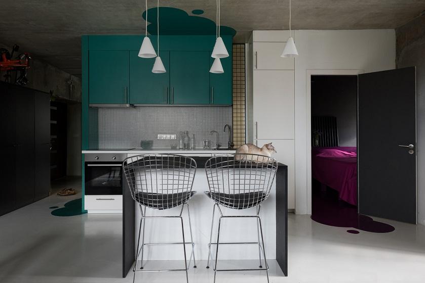 بازسازی آپارتمان Pirogovka / طراحی داخلی Le