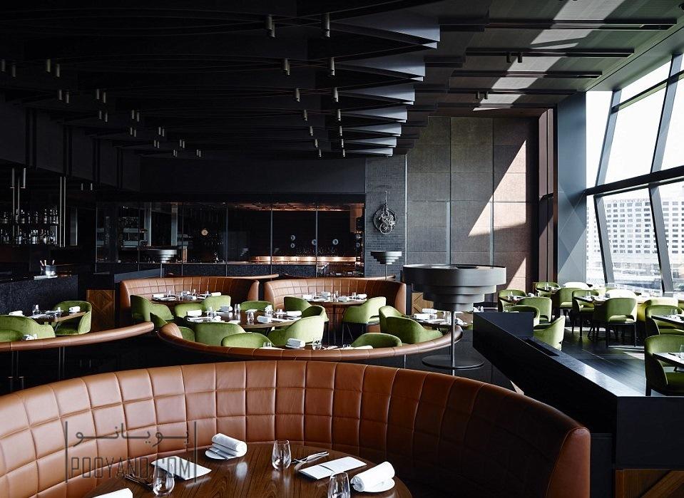 دکوراسیون داخلی رستوران های جهان به روایت تصویر و تفسیر